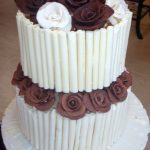 2 Tier Cigarello Roses