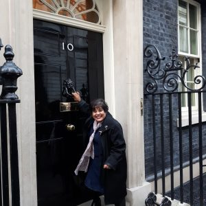 Knocking on the door of 10 Downing Street :)